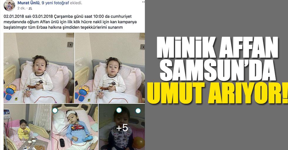 Tokatlı ailenin Samsun'da umut arayışı