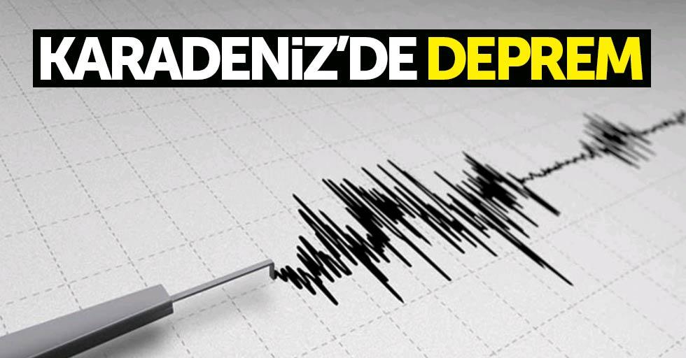 Amasya'da deprem oldu