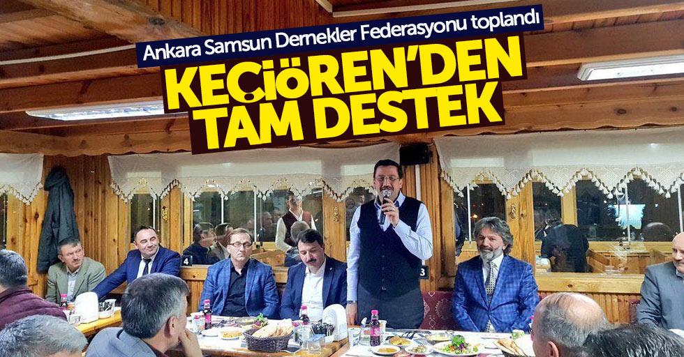 Ankara Samsun Dernekler Federasyonu toplantı yaptı