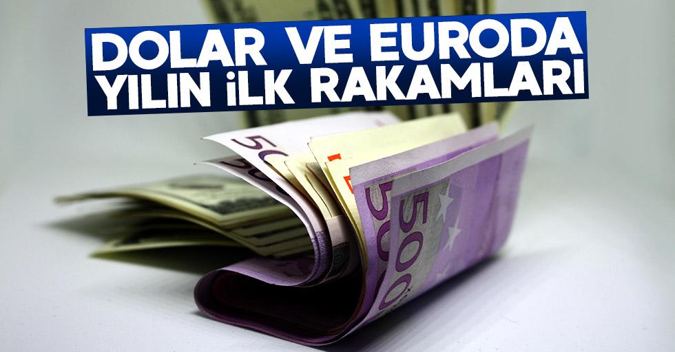 İşte dolar ve euroda yılın ilk rakamları