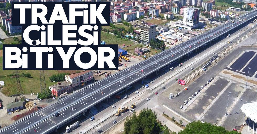 Kirazlık'taki trafik çilesi bitiyor
