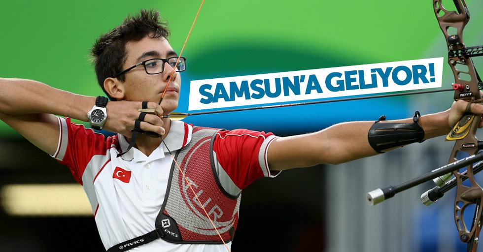 Olimpik milli okçu Samsun'da yarışacak
