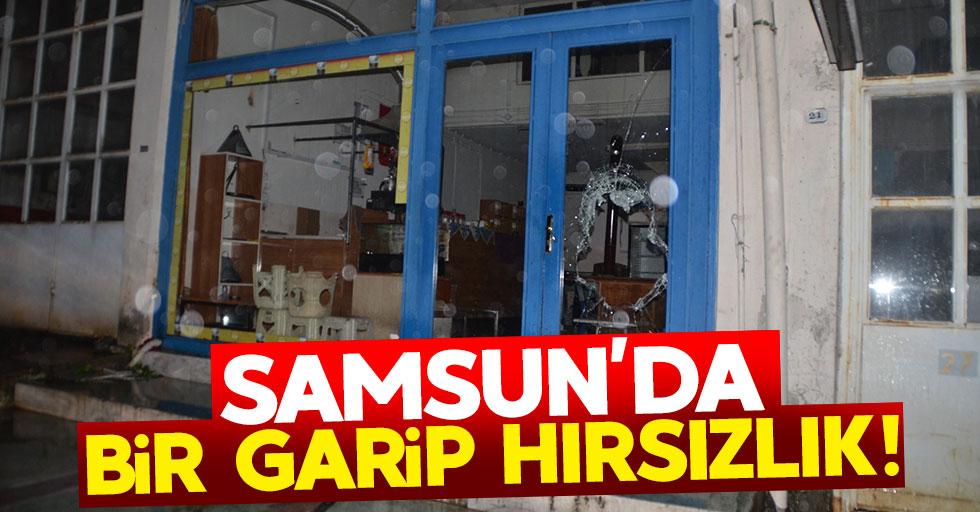 Samsun'da bir garip hırsızlık olayı!