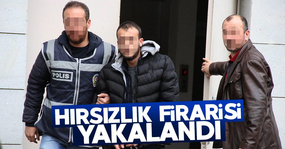 Samsun'da hırsızlık firarisi yakalandı