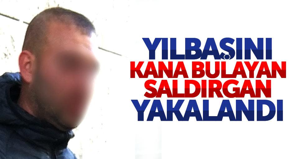 Samsun'da yılbaşını kana bulayan zanlı yakalandı