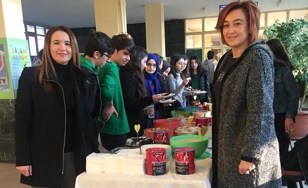 Samsunlu öğrenciler Eren Bülbül için kermes kurdu