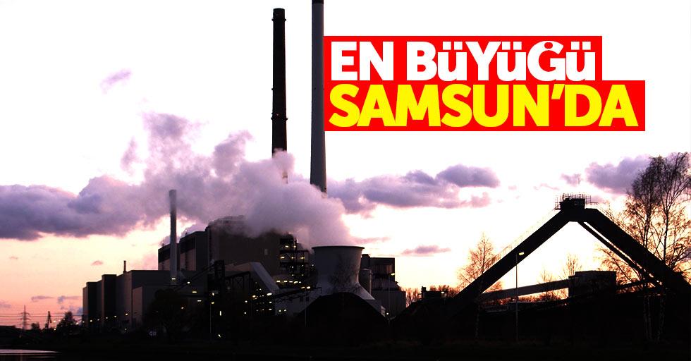 Türkiye'nin en büyük atık ısı santrali Samsun'da