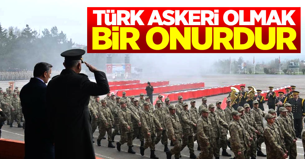 Albay Üstün: Türk askeri olmak bir onurdur