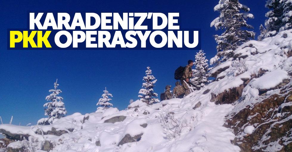 Karadeniz'de PKK operasyonu