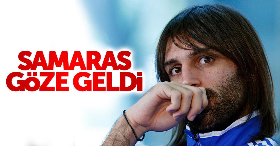 Samaras göze geldi