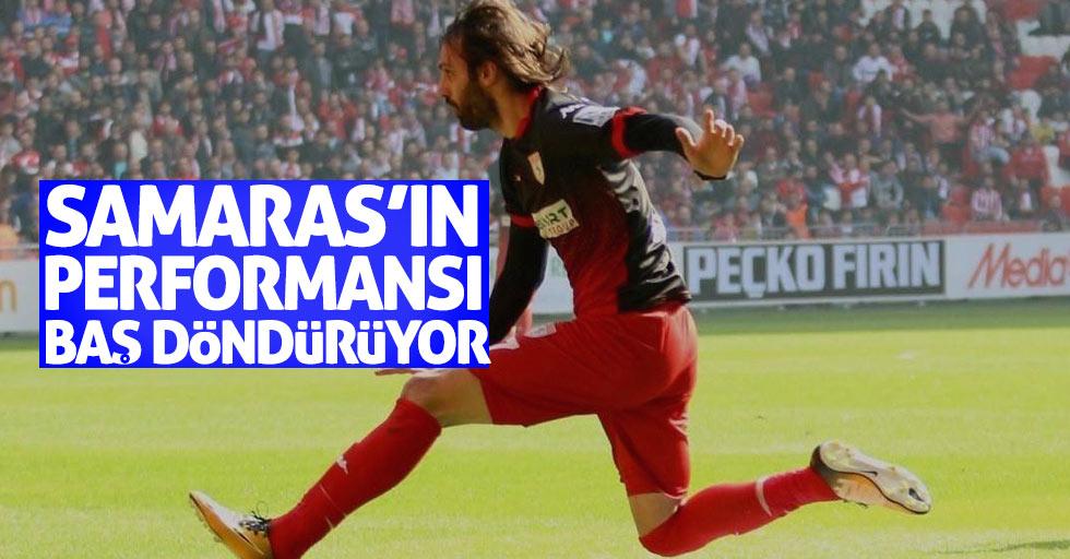 Samaras'ın performansı baş döndürüyor