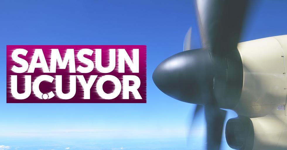 Samsun'da 147 bin kişi uçtu