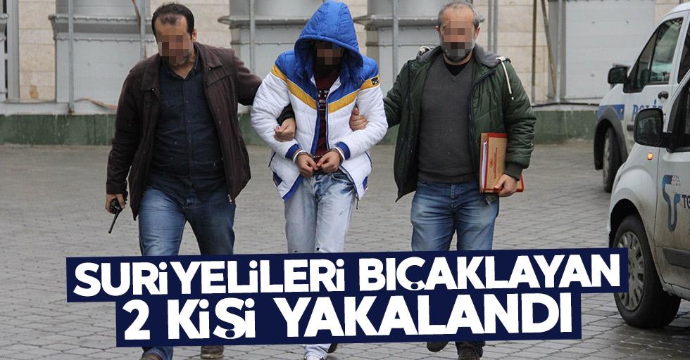 Samsun'da Suriyelileri bıçaklayan 2 kişi yakalandı