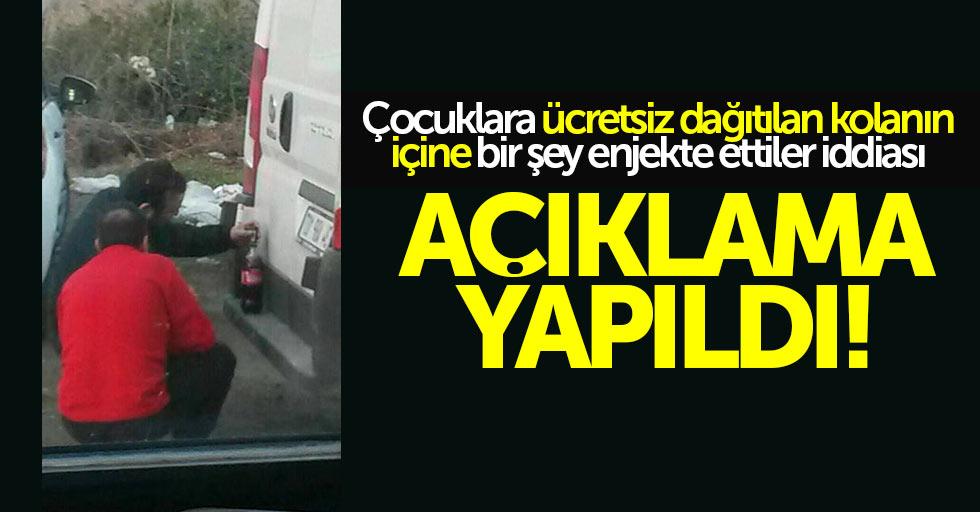 Samsun'da ücretsiz dağıtılan kolaya enjekte iddiası
