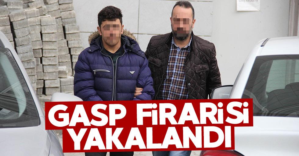 Samsun'daki gasp zanlısı yakalandı