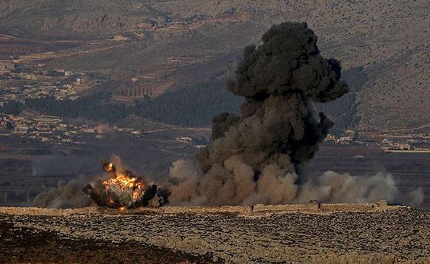 Afrin'in merkezine 8 kilometre kaldı