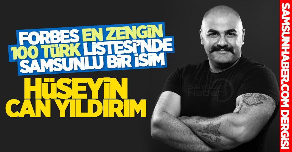 En Zengin 100 Türk listesinde Samsunlu bir isim