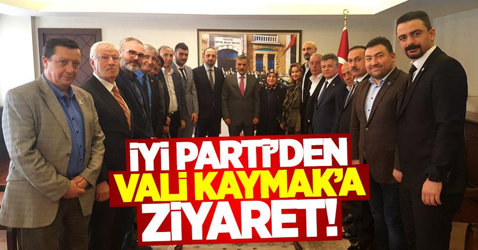 İYİ Parti'den Samsun Valisi Osman Kaymak'a ziyaret