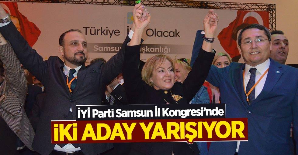 İYİ Parti Samsun İl Kongresi'nde iki aday yarışıyor