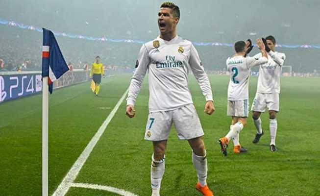 Real Madrid PSG'ye şans tanımadı