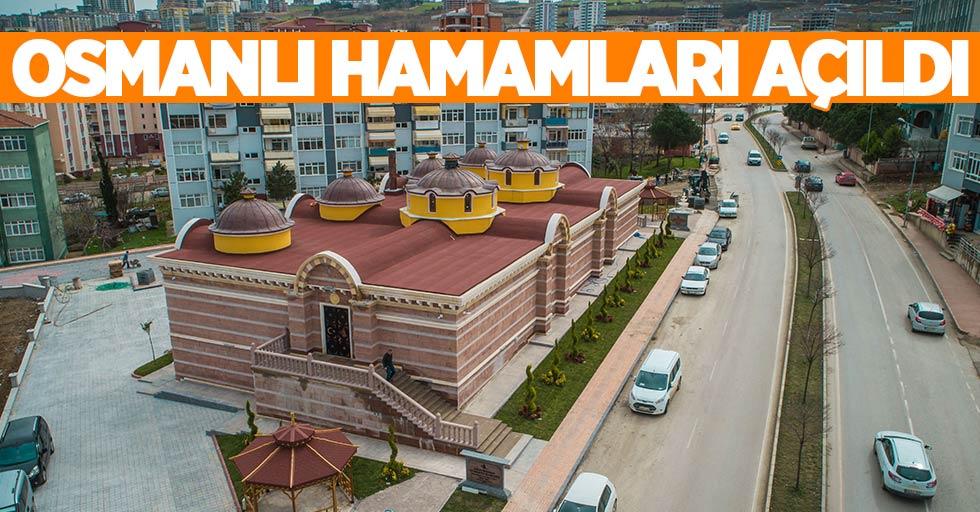 Samsun'da Osmanlı Hamamları açıldı