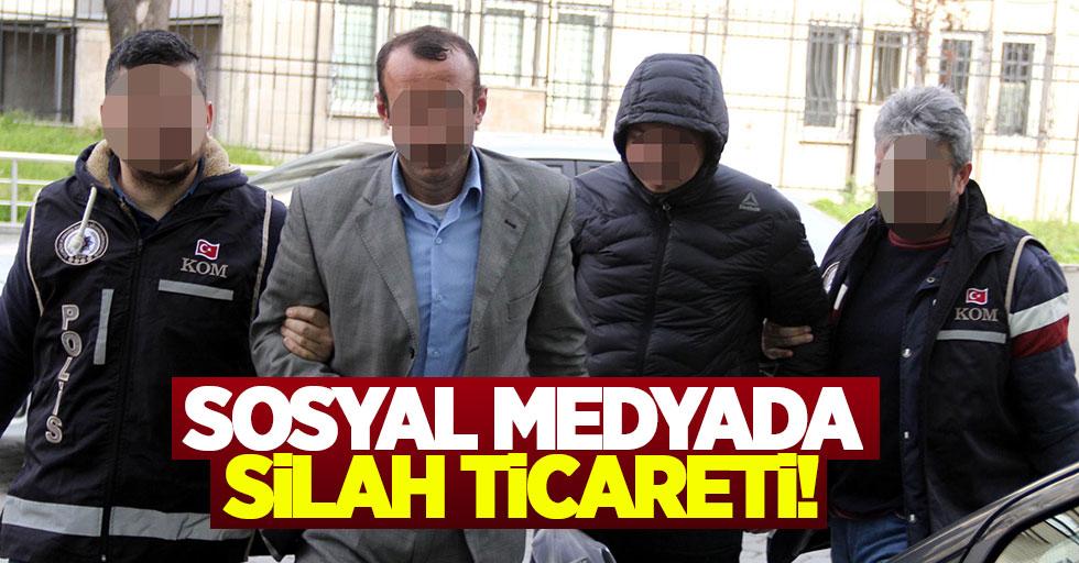 Samsun'da sosyal medyada silah ticareti