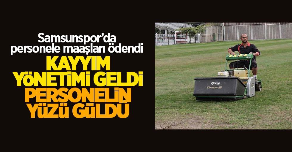 Samsunspor'da personele maaşları ödendi