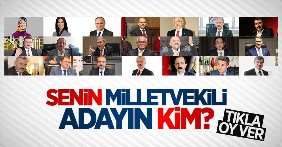 AK Parti Samsun Milletvekili Adayı olarak kimleri görmek istersiniz