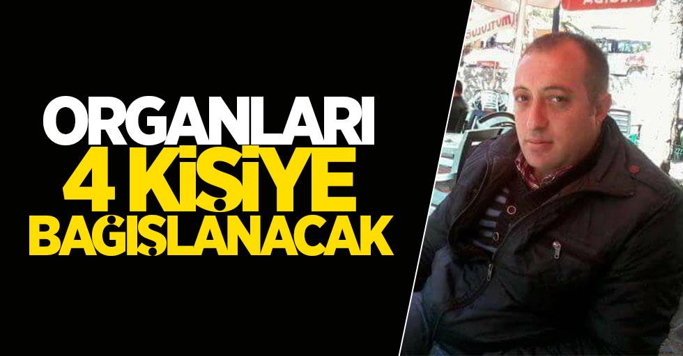 Bayram Aktürk'ün organları Samsun'daki hastalara nakledilecek