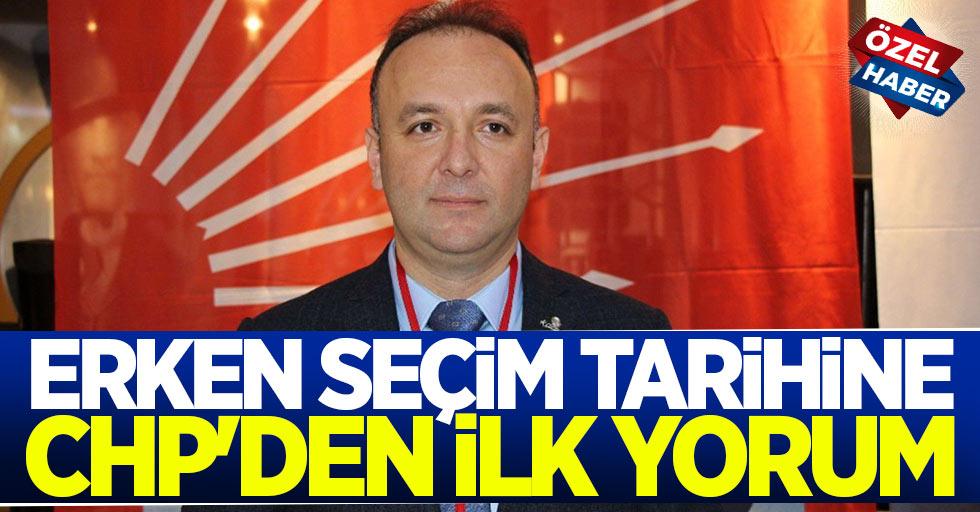 Erken Seçim Tarihine CHP'den İlk Yorum