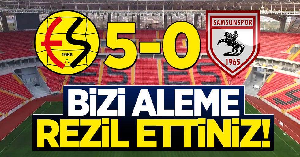 Eskişehirspor 5-0 Samsunspor (Maç sonucu)
