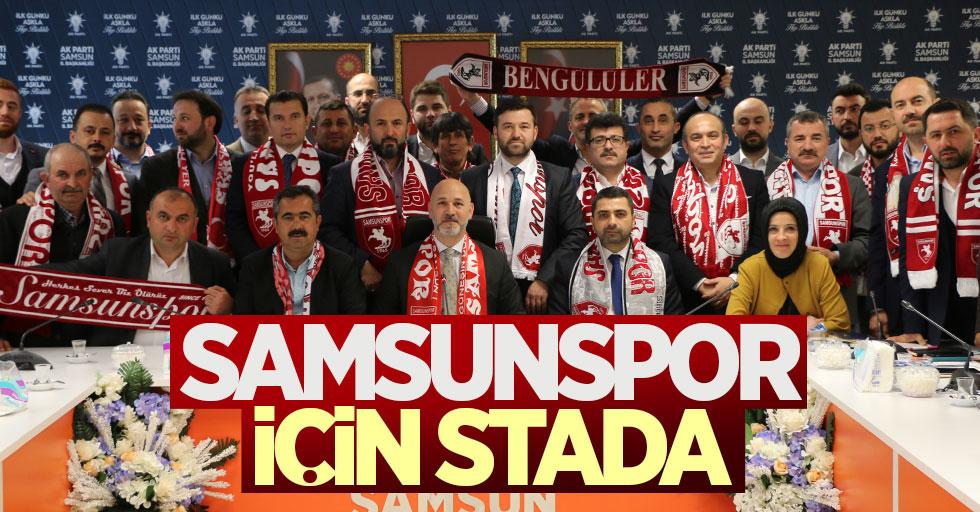 Hakan Karaduman: Samsunspor için stada