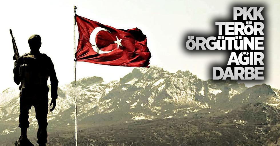 PKK terör örgütüne ağır darbe