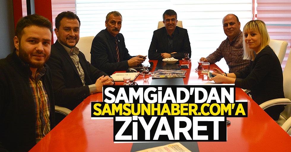 SAMGİAD'dan Samsunhaber.com'a Ziyaret