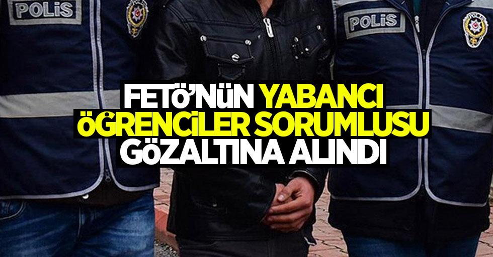 Samsun'da FETÖ'nün yabancı öğrenciler sorumlusu gözaltına alındı