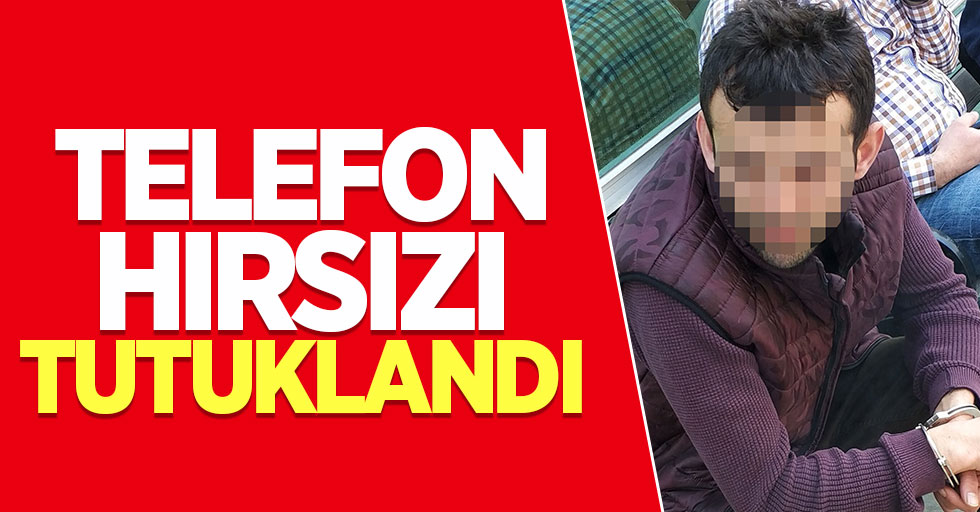 Samsun'da marketten hırsızlık yapan şahıs tutuklandı
