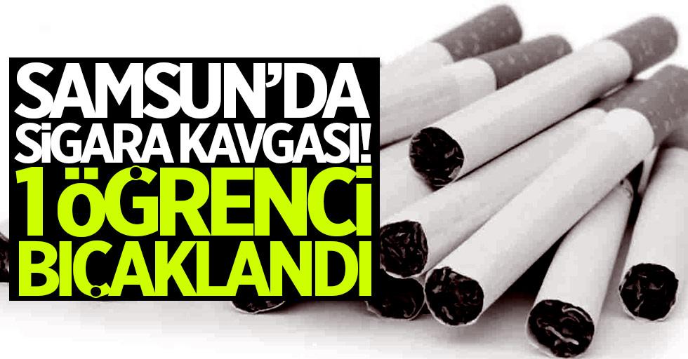 Samsun'da sigara kavgası! 1 öğrenci bıçaklandı