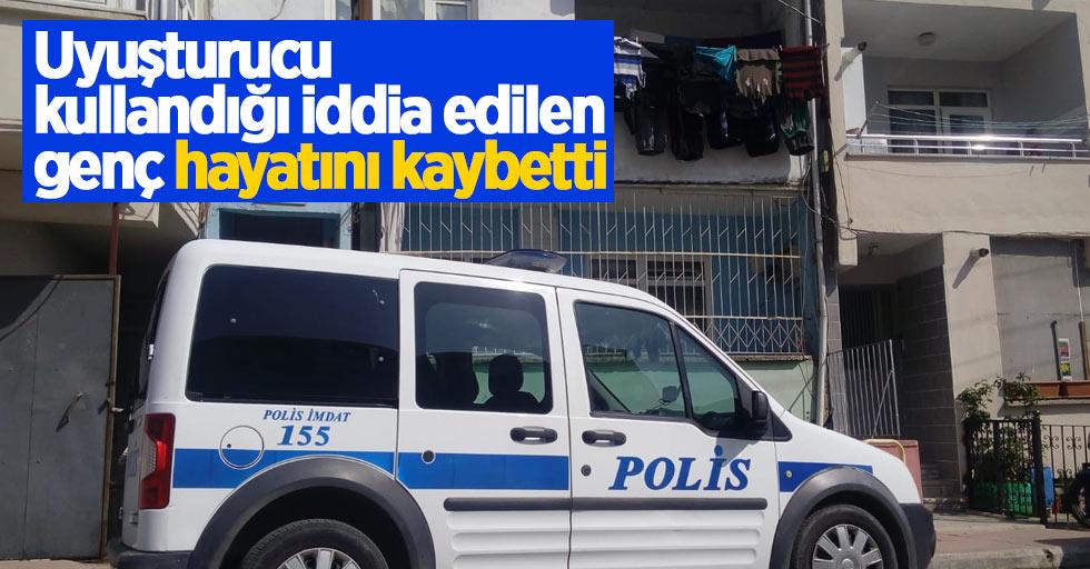 Samsun'da uyuşturucu kullandığı iddia edilen şahıs hayatını kaybetti