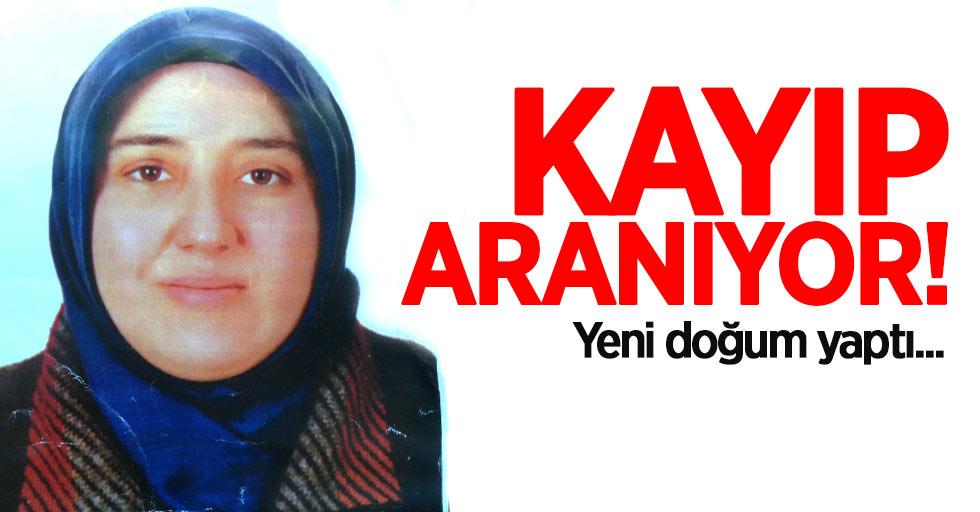 Samsun'da yeni doğum yapan kadın kayıp