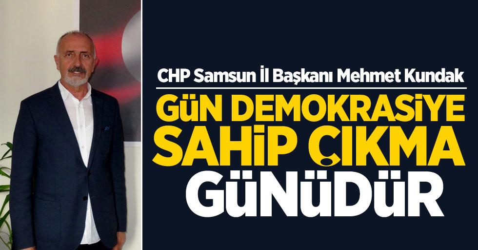 CHP İl Başkanı Kundak adaylarla buluştu