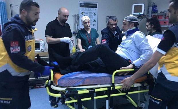 CHP'li vekiller trafik kazası geçirdi