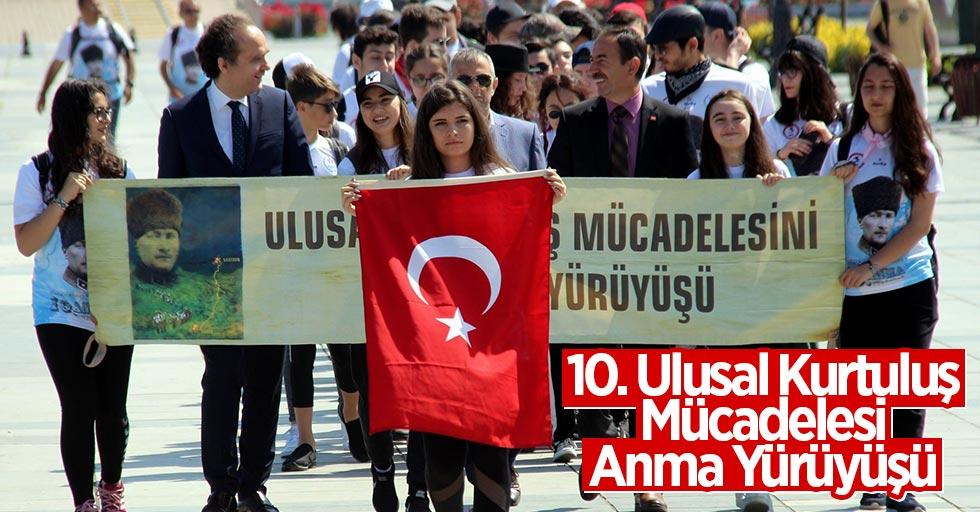 Samsun'da dağcılar Kurtuluş Yolunda yürüyüşe başladı
