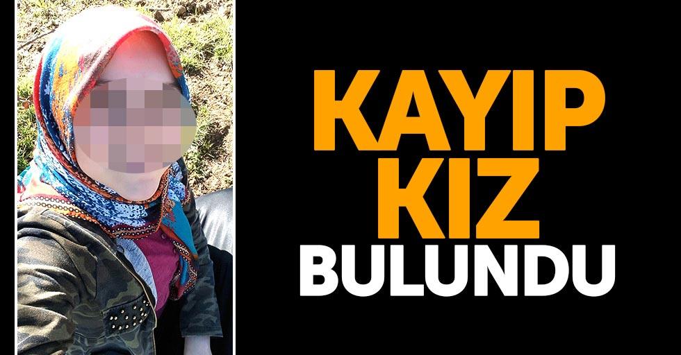 Samsun'da kayıp kız bulundu