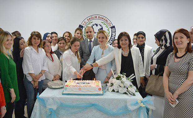 Samsun'da sağlık çalışanları unutulmadı