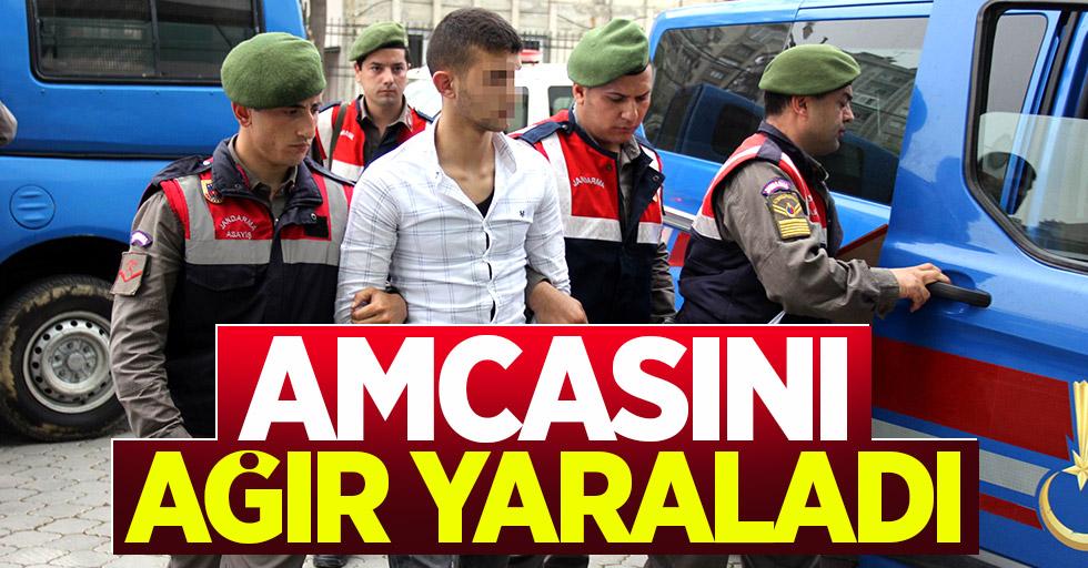 Samsun'da silahlı saldırı: Amcasını ağır yaraladı