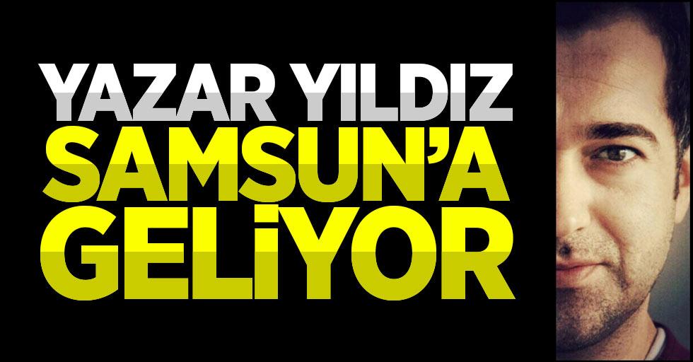 Yazar Faruk Yıldız, Samsun'a geliyor