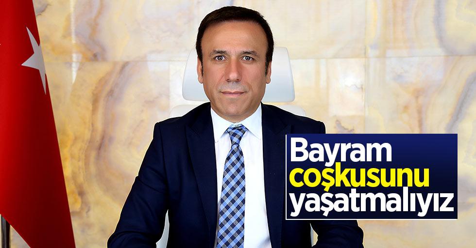 Osman Genç: Bayram coşkusunu yaşatmalıyız