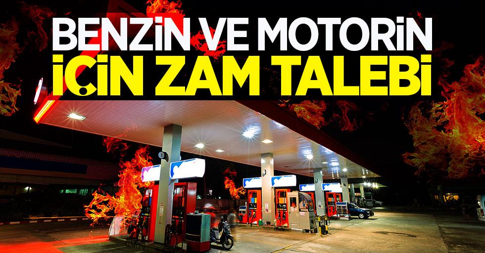 Benzin ve motorin için zam talebi