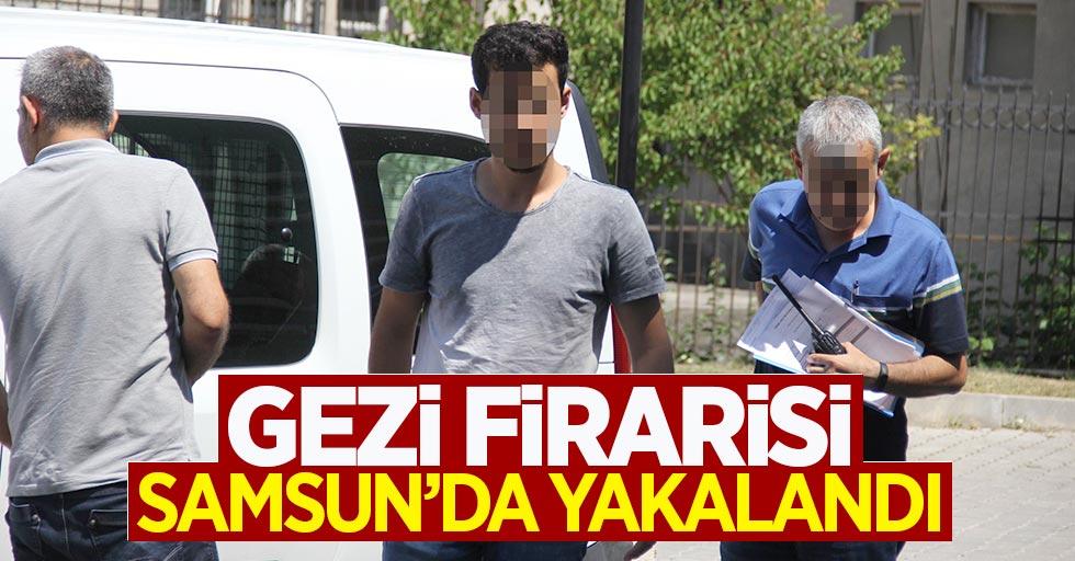 Gezi olaylarından aranan şahıs Samsun'da yakalandı