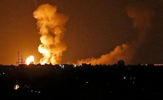 İsrail' Gazze'ye operasyon düzenledi